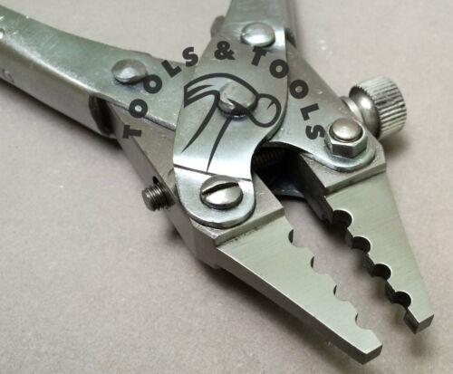 Qualité action parallèle 4 trou swedging pinces pour Bois Bijoux Artisanat Réparation