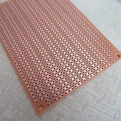 Lochraster Platine Leiterplatte circuit 1pc pcb 7x10cm 3er Streifenraster Punkt