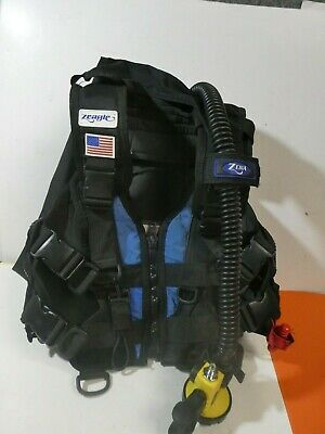 Zeagle Ranger LTD BC w// Rip Cord System Size Small Gray Scuba Diving SM Dive BCD