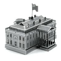 Metal Earth 3D Laser Cut Model - White House Puzzle by Fascinations Toys