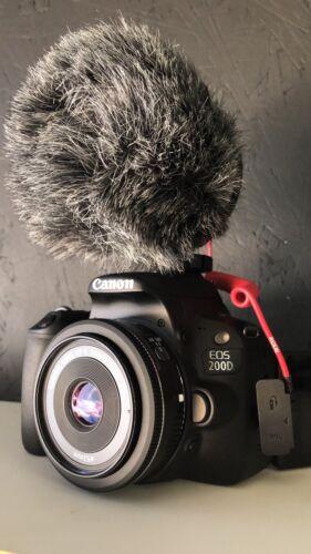 Canon EOS 200D Digital SLR Camera - Black