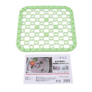 3 Colors Protective Rubber Kitchen Sink Mat Non Slip Liner