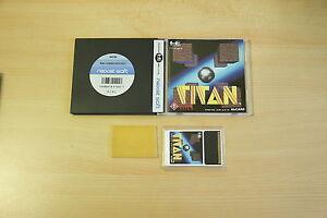 TITAN-jeu-pc-engine-Hucard-import-JAP-complet