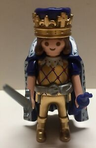 Playmobil-Mystery-Pack-Series-7-Gold-King-Loose-Brand-New