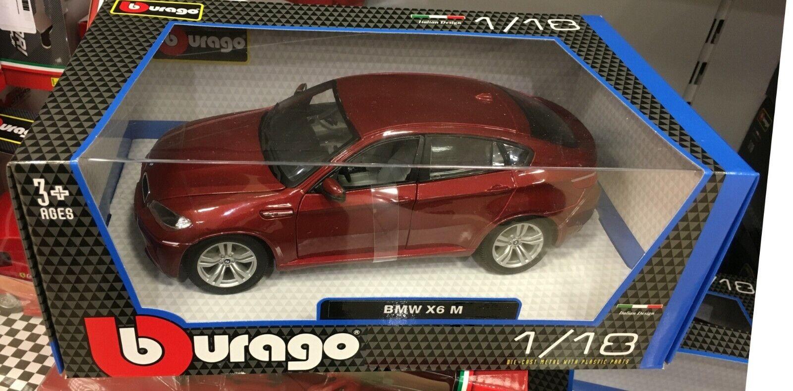 BBURAGO BURAGO 1 18 BMW X6 X 6 M M6