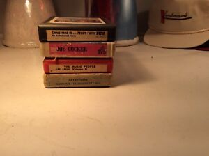 LOT-OF-4-12-8-TRACK-TAPES-Various-Artists-Genre