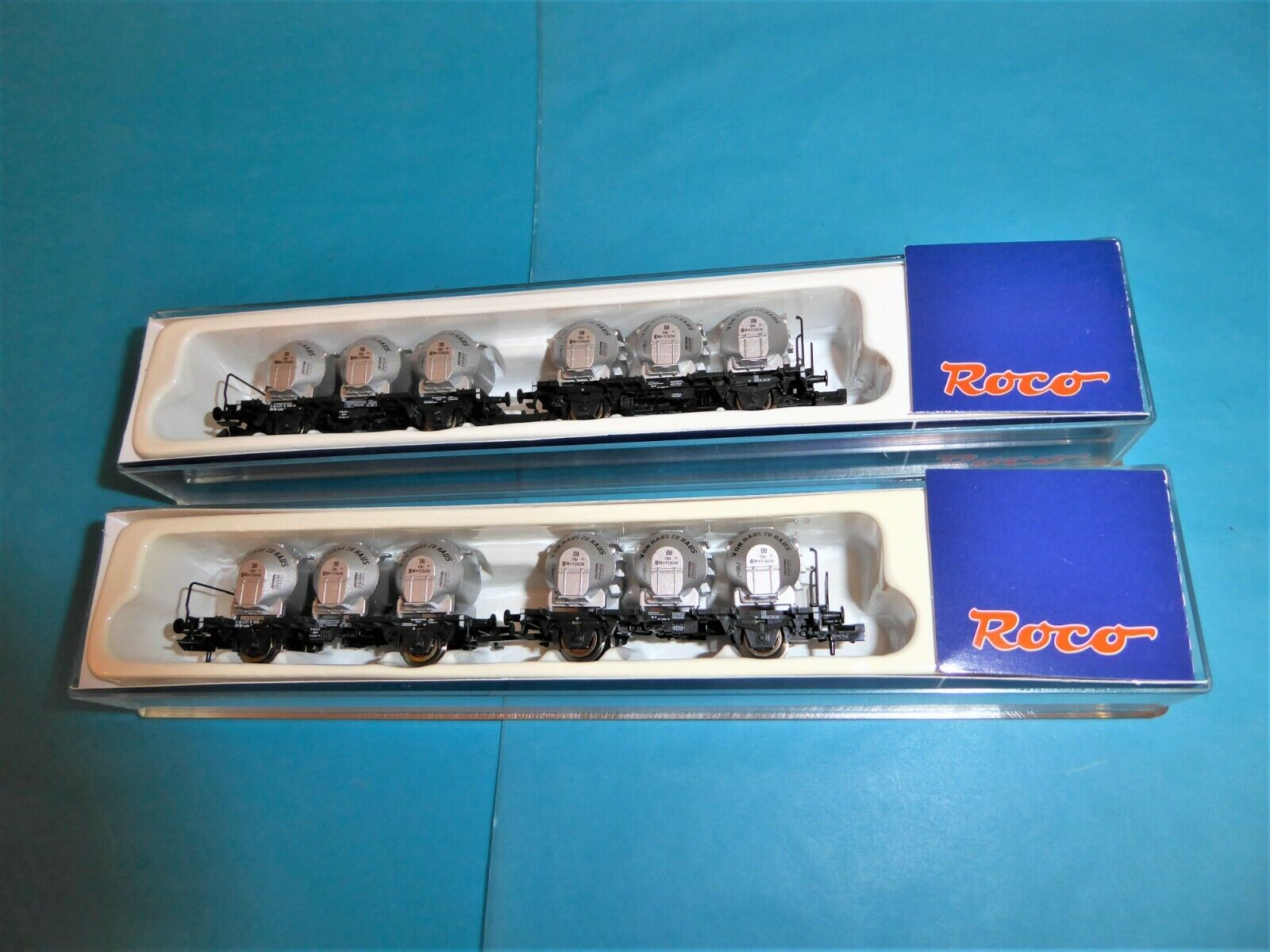 ROCO N 24036 2x  Laabs 508  Behälterwagenset