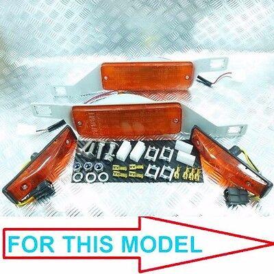 FRONT BUMPER / SIDE TURN SIGNAL LIGHT FIT FOR TOYOTA COROLLA KE70 TE71 TE72