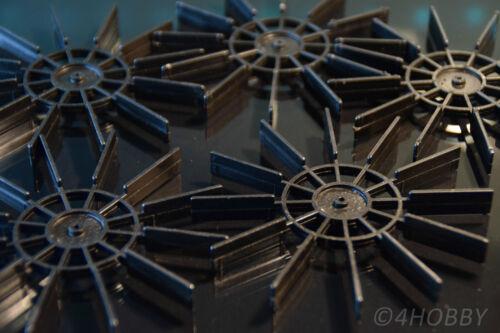 5x Wasserrad 100mm Paddelrad Wassermühle Schiffsschraube Propeller RC Modellbau