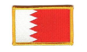 PATCH ECUSSON BRODE DRAPEAU BAHRAIN Bahreïn INSIGNE THERMOCOLLANT NEUF FLAG 8Mexaw2U-09165905-344897658
