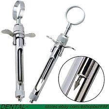 2pcs Dental Dentist Aspirating Syringe Dentist Surgical Instruments 18mlusa