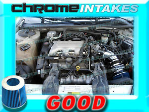 black blue 96 97 98 01 chevy lumina oldsmobile cutlass supreme 3 1l air intake ebay ebay