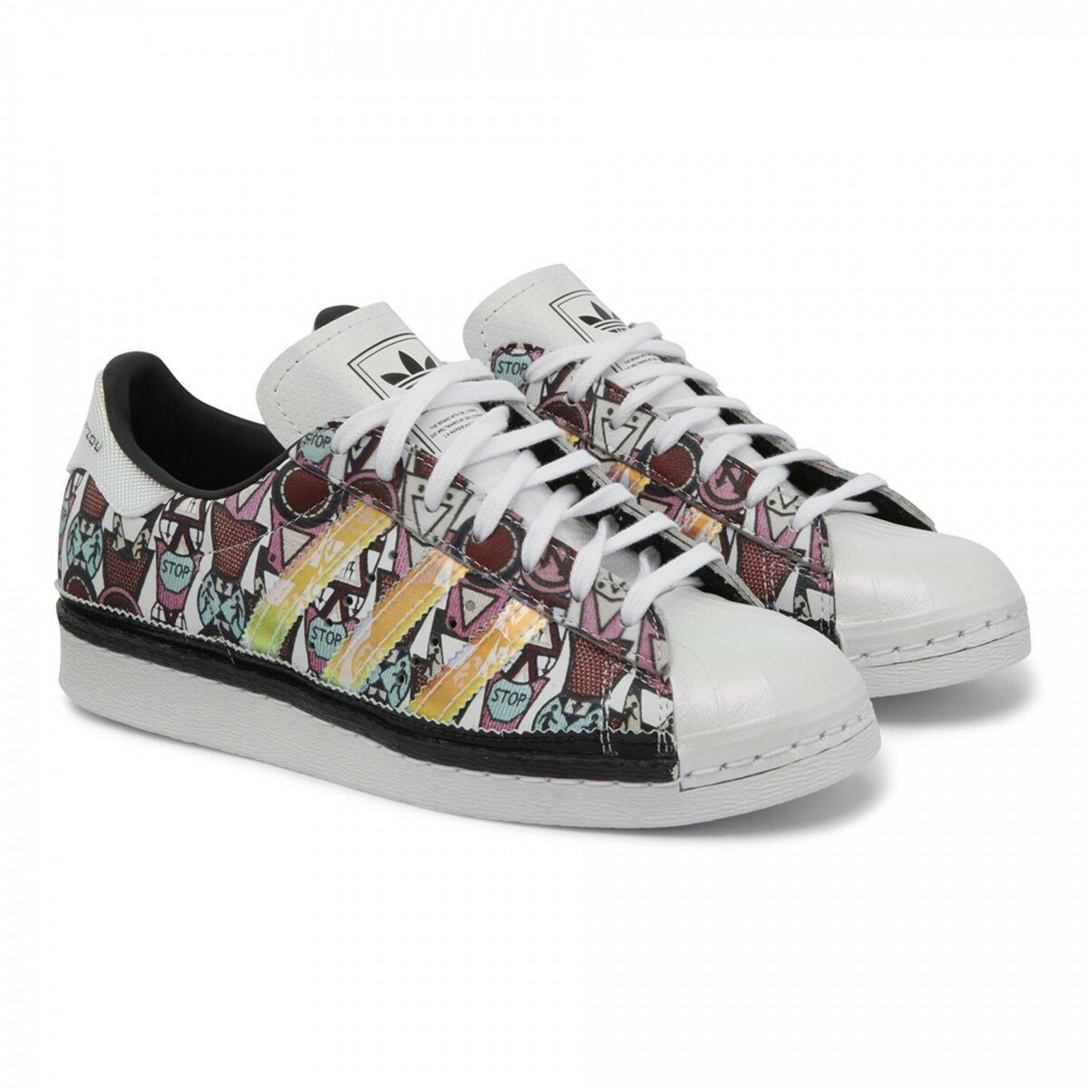 ADIDAS 80's ORIGINALS MARY KATRANTZOU SUPERSTAR 80's ADIDAS WOMEN'S SHOES SIZE US 10 AF5272 ac6da8