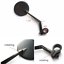 360 degrees Rotatable Bicycle Mirror Handlebar Glass Wide Rearview Fashion Hot