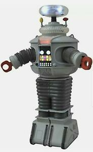Diamond Select Toys Lost In Space B9 Electronic Robot Anti-Matter Figure NOB