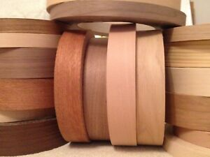 Wood Veneer Pre Glued Iron On Edging Tape Edge Strip 18mm 22mm 30mm 40mm 50mm Ebay