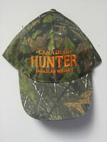 Canadian Hunter Canadian Whisky Camouflage Cap One Size Fit All Now $9.99