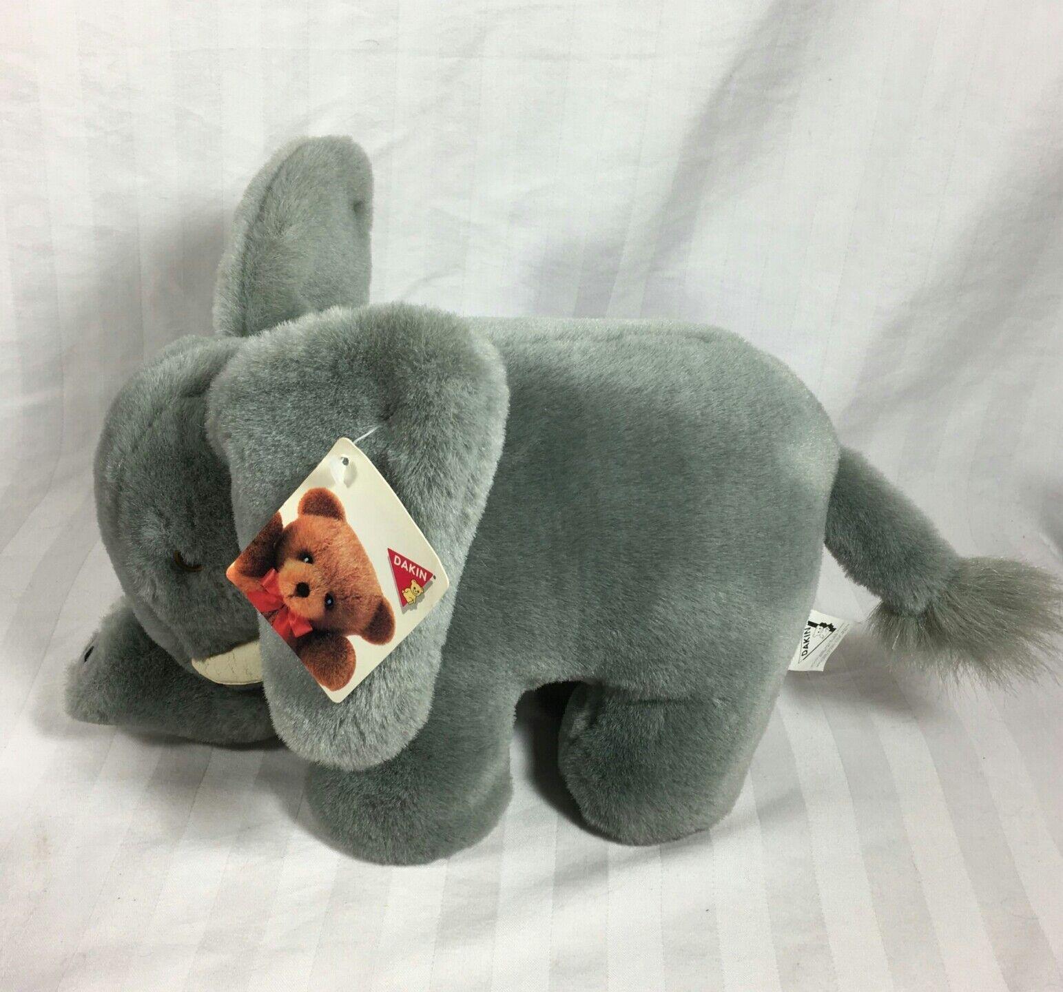 Vintage Dakin Plush Elephant Applause