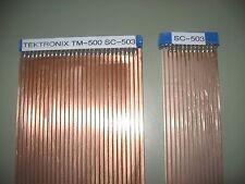 Tektronix Sc 503 Oscilloscope Extender Pair Riser Kit Form