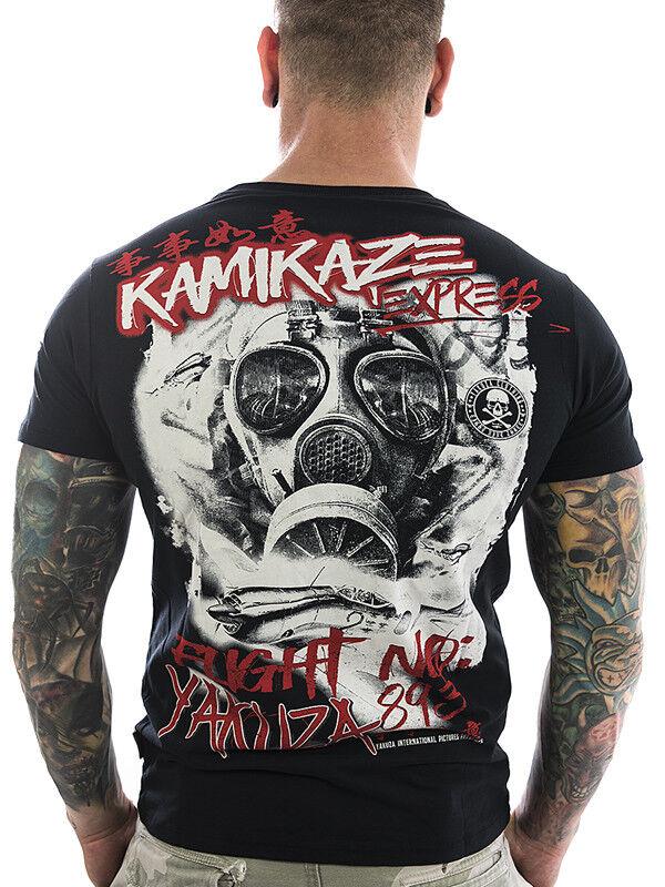 Yakuza Shirt Flight No893 13030 schwarz Neu Neu Neu Männer Herren - T-Shirt | Die erste Reihe von umfassenden Spezifikationen für Kunden  | Marke  0f4b52