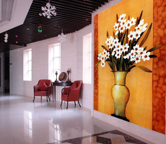3D Charming Flowers 9 Paper Wall Print Decal Wall Wall Murals AJ WALLPAPER GB