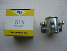Cole Hersee 24115 12V Steel Solenoid, Insulated, Continuous Duty, SPST, NOS!