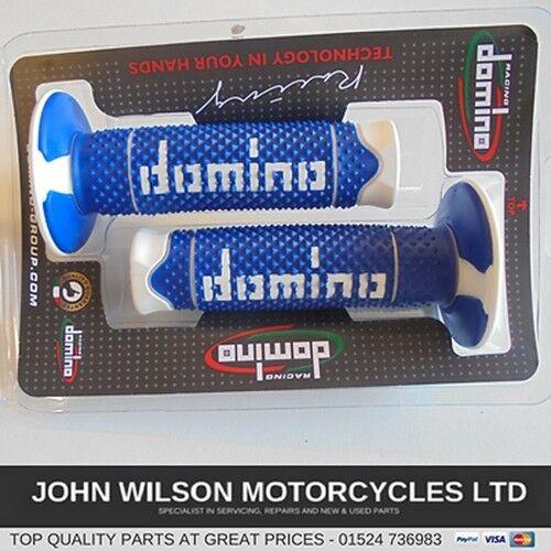 Yamaha DT125 DT125R RE Blue Offroad Handlebar Soft Grips