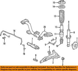 2005 honda crv suspension diagram online schematic diagram honda oem 97 01 cr v rear suspension strut 52611s10305 ebay rh ebay com 2001 honda civic suspension diagram 1998 honda accord suspension diagram publicscrutiny Image collections