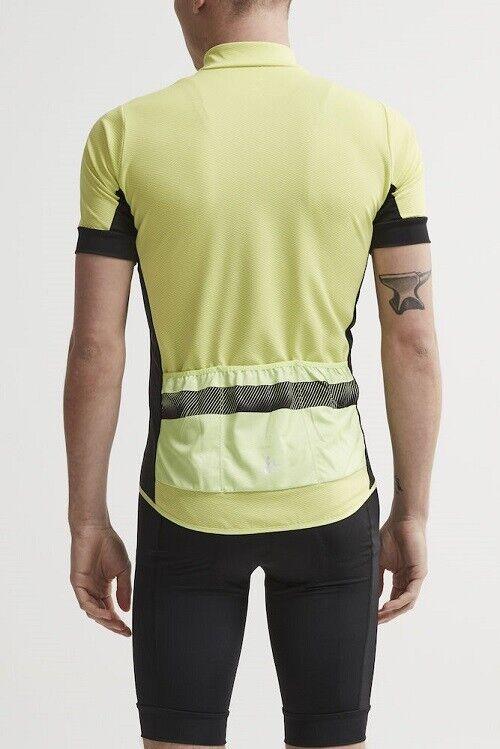 Craft Reel Jersey funktionelles Bike-Trikot für für für Herren in Gelb Schwarz Gr. 3XL | Um Sowohl Die Qualität Der Zähigkeit Und Härte  0e2a13
