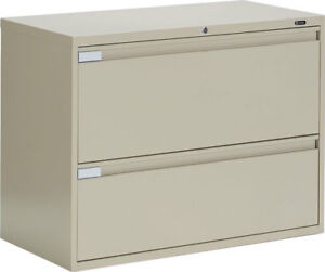 Image Is Loading Global Metal 2 Drawer Office Lateral File Cabinet