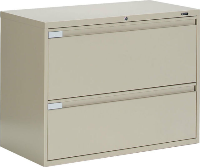 Fabulous Global Metal 2 Drawer Office Lateral File Cabinet 42 Wide Interior Design Ideas Jittwwsoteloinfo