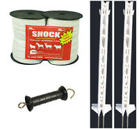 Electric Fence / Fencing: 4ft Post,twin Pack Xvalue Kit