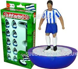 SHEFFIELD WEDNESDAY Wigan Porto Brighton Subbuteo Calcio Figure Miniature