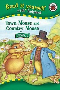 Read-It-Yourself-Town-Mouse-and-Country-Mouse-Level-2-Ladybird-Used-Good-B