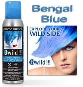 B Wild Hair Color Spray BENGAL BLUE   3.5oz