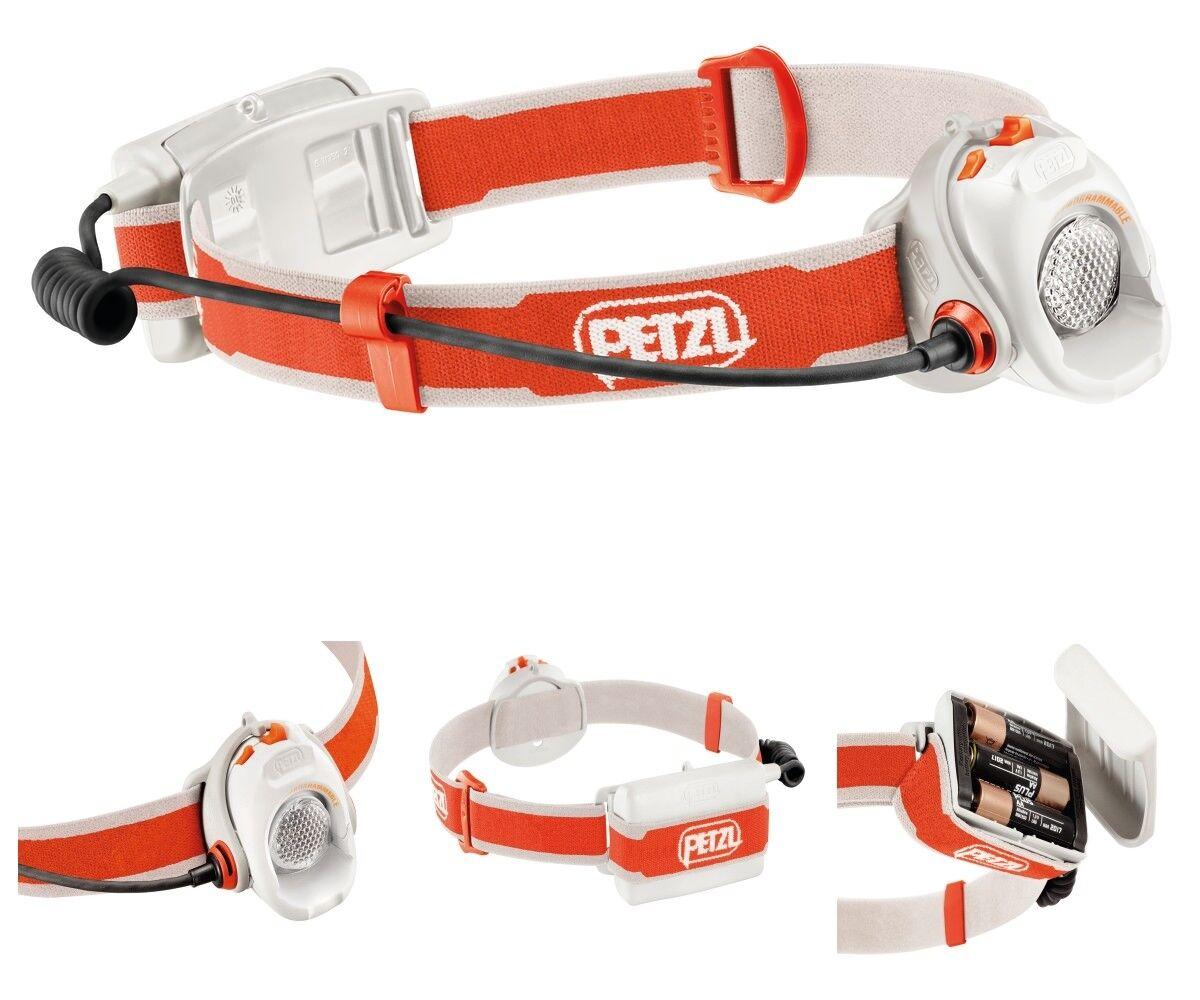 Petzl Linterna Myo blancooO   Naranja máx. 370 lumen -optimale distribución del