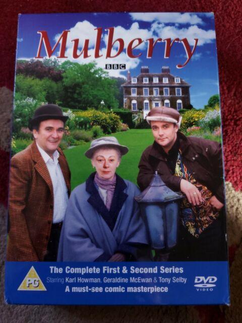 Mulberry- Complete Series 1 & 2 (DVD) BBC, Geraldine McEwan, Karl Howman