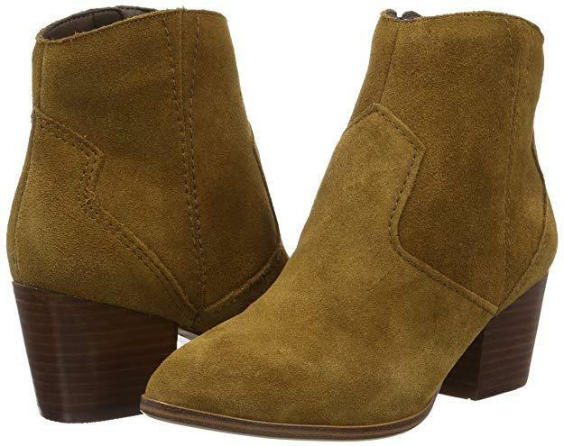 ALDO SIZE 8 REAL 41 MARECCHIA TAN BROWN REAL 8 SUEDE LEATHER COWBOY ANKLE Stiefel BNWB caaa81