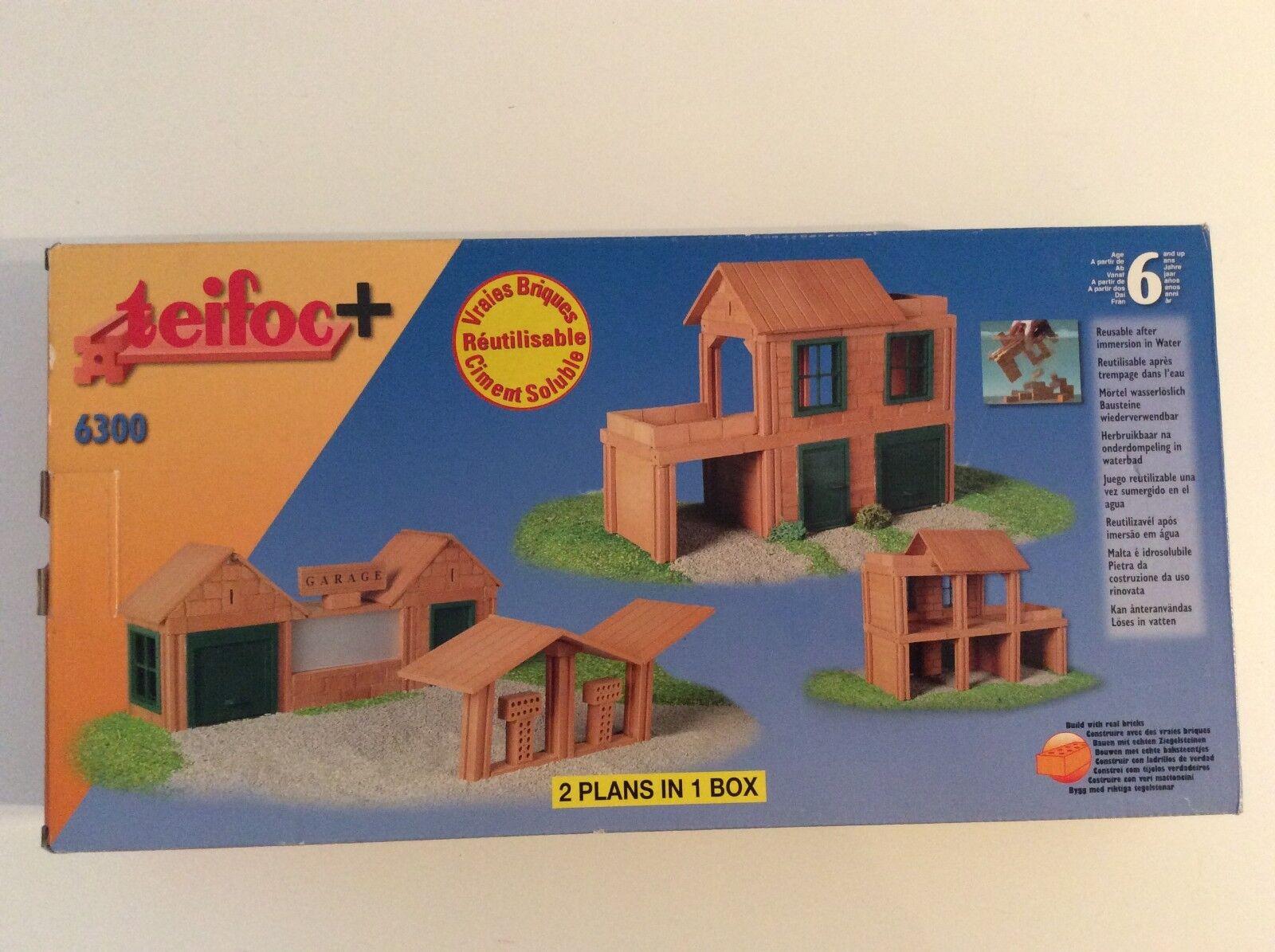 Kit pour construire garage + maison avec une terrasse   teifoc 6300