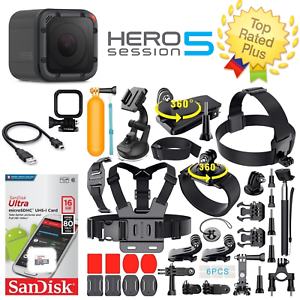 GoPro-HERO5-Session-Waterproof-Camera-40-PCS-Sports-Accessories-Bundle