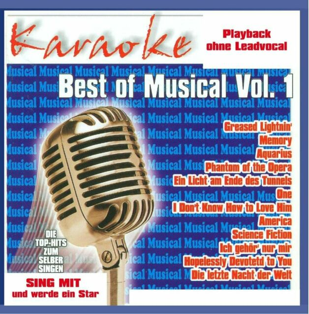 Karaokefun - Best Of Musical Vol.1 CD #1991192