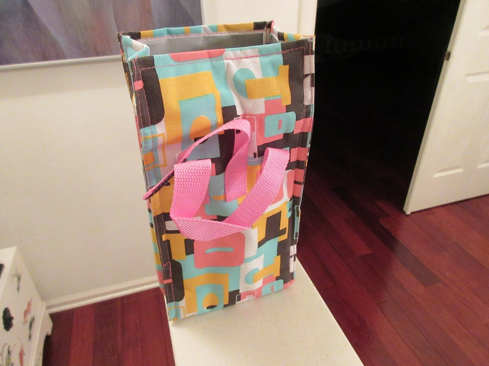 """Insulated Lunch Bag , Self , Multi Color , 11""""X6""""X31/2"""""""