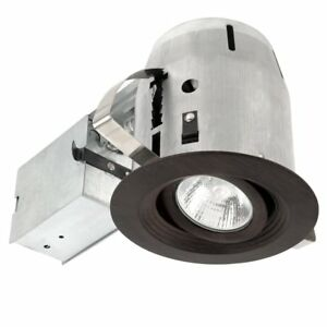 Image Is Loading Utilitech 4 034 Recessed Lighting Kit Swivel Aged