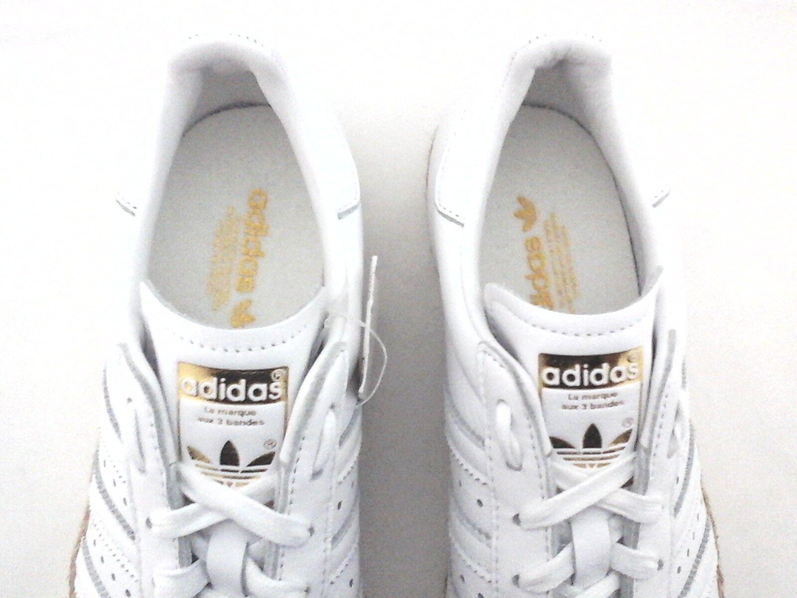 ADIDAS Superstar shoes Bold Espadrilles White DA9573 DA9573 DA9573 Women's US 8 New 631220