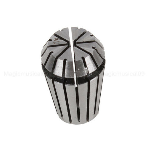 """High Accuracy ER20 3.175mm 1//8/"""" Spring Steel Collet Chuck Drill Engraving Holder"""