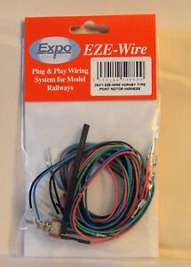 Expo-Tools-28071-EZE-Wire-Hornby-Type-Point-Motor-Harness-for-Model-Rail