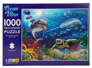 1000 Pieces Jigsaw Puzzle OCEAN VIEW Educational Learning Game Kids Adult Puzzle