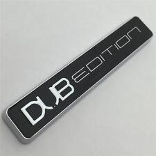 CHROME DUB EDITION Car Badge NEW For VW GOLF GTI TDI POLO LUPO PASSAT CADDY T4 5