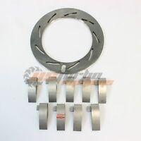 03 Ford Powerstroke Powermaxe Gt37va Turbo Unison Nozzle Ring Vanes 15mm Set