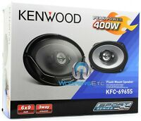 Kenwood Kfc-6965s 6x9 800w Max 3way Super Tweeters Coaxial Car Stereo Speakers on sale